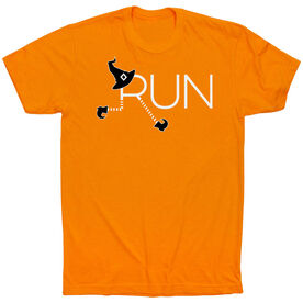 Running Short Sleeve T-Shirt - Let's Run For Halloween