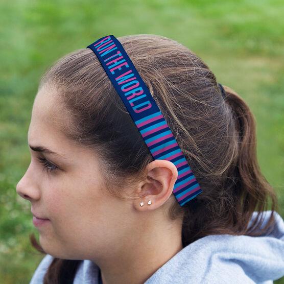 Running Julibands No-Slip Headbands - Girls Run The World