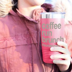 Running 20oz. Double Insulated Tumbler - Coffee Run Brunch
