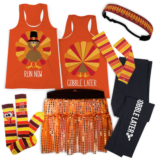 Pilgrim Turkey Running Outfit