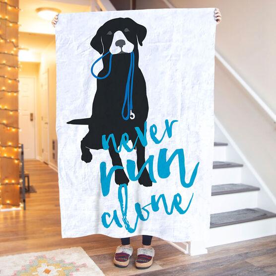 Running Premium Blanket - Never Run Alone