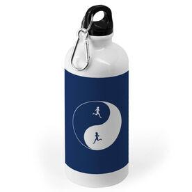 Running 20 oz. Stainless Steel Water Bottle - Runner Girl Yin Yang