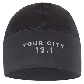 Run Technology Beanie Performance Hat - 13.1 Your City