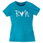 Women's Everyday Runners Tee - Run Heart