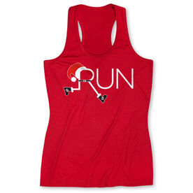Women's Performance Tank Top - Let's Run For Christmas