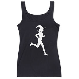 Running Women's Athletic Tank Top - Runner Witch