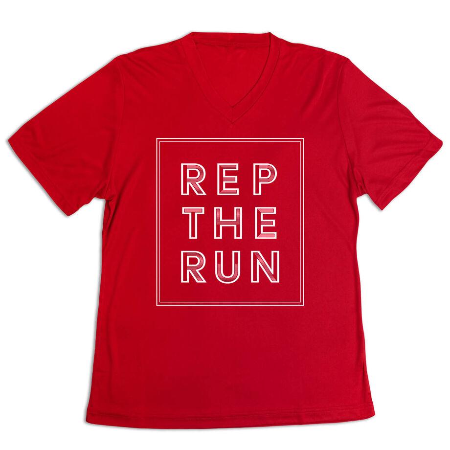 Women's Short Sleeve Tech Tee - Rep The Run