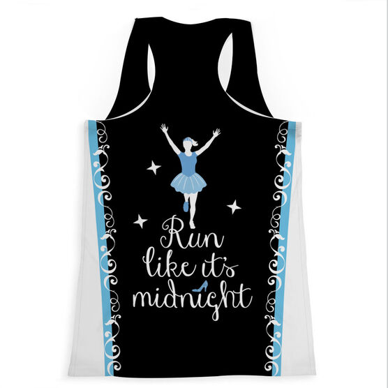 Women's Performance Tank Top - Run Like It's Midnight