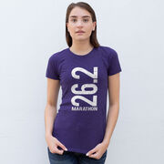 Women's Everyday Runners Tee 26.2 Marathon Vertical