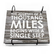 BibFOLIO® Race Bib Album - Journey of a Thousand Miles Rustic