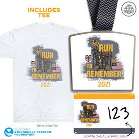 Virtual Race - A Run to Remember 5K (2021)
