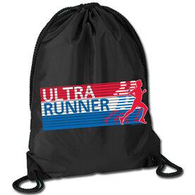 Running Sport Pack Cinch Sack Ultra Runner U.S.A.