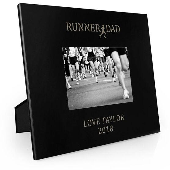 Running Engraved Picture Frame - Runner Dad