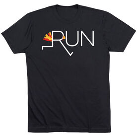 Running Short Sleeve T-Shirt - Let's Run For Turkey