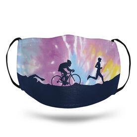 Triathlon Face Mask - Triathlon Tie-Dye