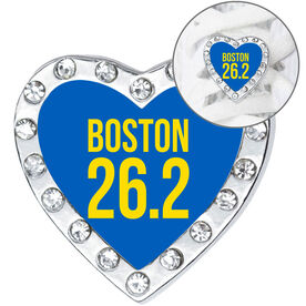Running Shoelace Charm - Boston 26.2