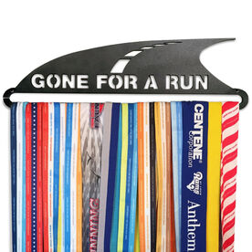 Race Medal Hanger Gone For A Run MedalART