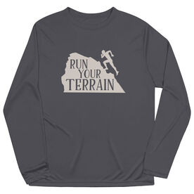 Men's Running Long Sleeve Tech Tee - Run Your Terrain