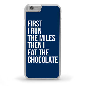 Running iPhone® Case - Then I Eat The Chocolate