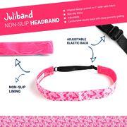 Athletic Juliband Non-Slip Headband - Heart