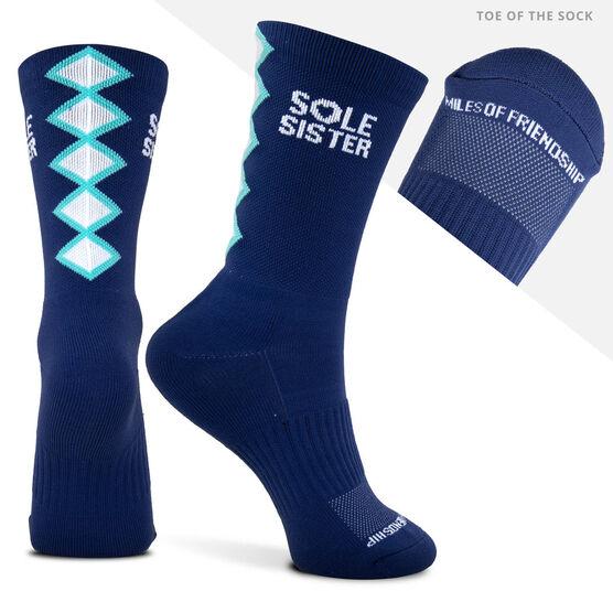 Socrates® Mid-Calf Performance Socks - Sole Sister