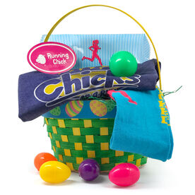 Easter gifts gone for a run running chick easter basket 2018 edition negle Image collections