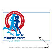 Virtual Race - Turkey Trot 2020 for AHG VA3130 (1/2 Mi, 1Mi or 5K)