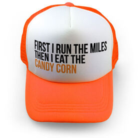 Running Trucker Hat - Then I Eat The Candy Corn
