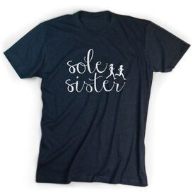 Running Short Sleeve T-Shirt - Sole Sister Script