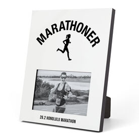 Running Photo Frame - Marathoner Girl
