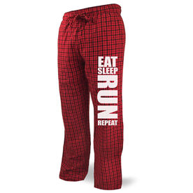 Running Lounge Pants Eat Sleep Run Repeat