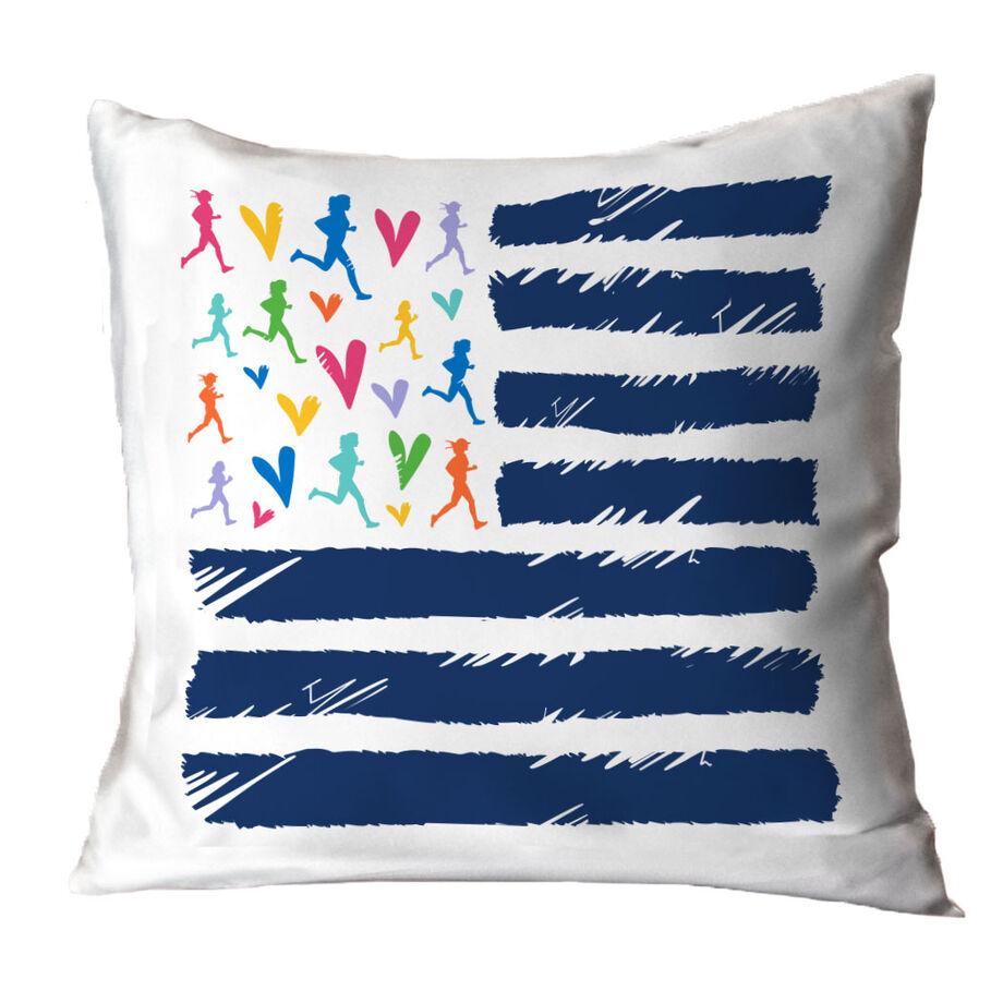 Running Decorative Pillow - United Runners