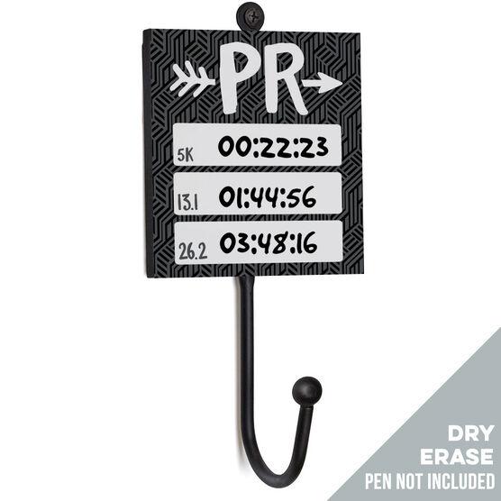 Running Medal Hook - PR Arrow (Dry Erase)