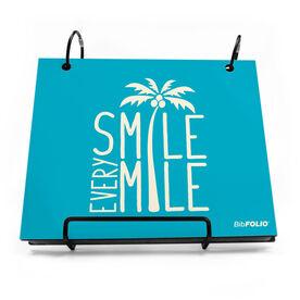BibFOLIO® Race Bib Album - Smile Every Mile