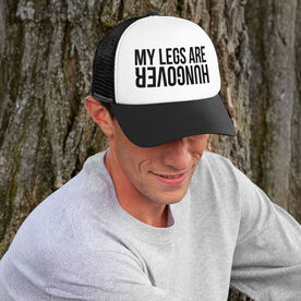 Running Trucker Hat - My Legs Are Hungover