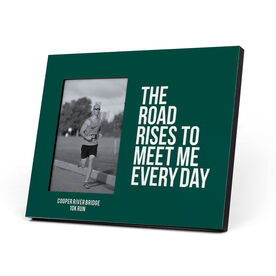 Running Photo Frame - May The Road Rise Up To Meet You