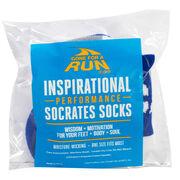 Socrates® Woven Performance Socks I Can (Royal)