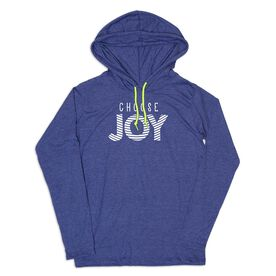 Women's Running Lightweight Hoodie - Choose Joy