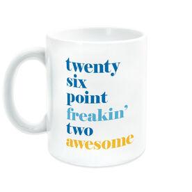 Running Coffee Mug - Awesome Mantra