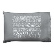 Running Pillow Case - Favorite Things