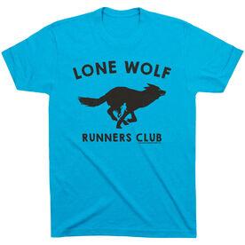 Running Short Sleeve T-Shirt - Run Club Lone Wolf