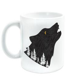 Running Coffee Mug - Run Wild Wolf