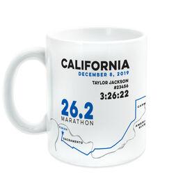 Running Coffee Mug - California 26.2 Route