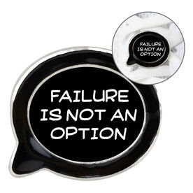 Running Shoe Lace Charm - Failure Is Not An Option