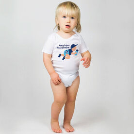 Running Baby One-Piece - Mom's Future Running Partner