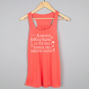 Flowy Racerback Tank Top - Awesome Autumn