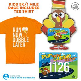 Virtual Race - Run Now Gobble Later® Kids 1 Mile/5K Race (2020)