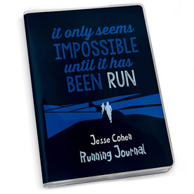 GoneForaRun Running Journal It Only Seems Impossible