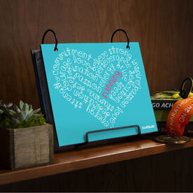 BibFOLIO® Race Bib Album - Running Inspiration Heart