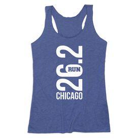 Women's Everyday Tank Top - Chicago 26.2 Vertical